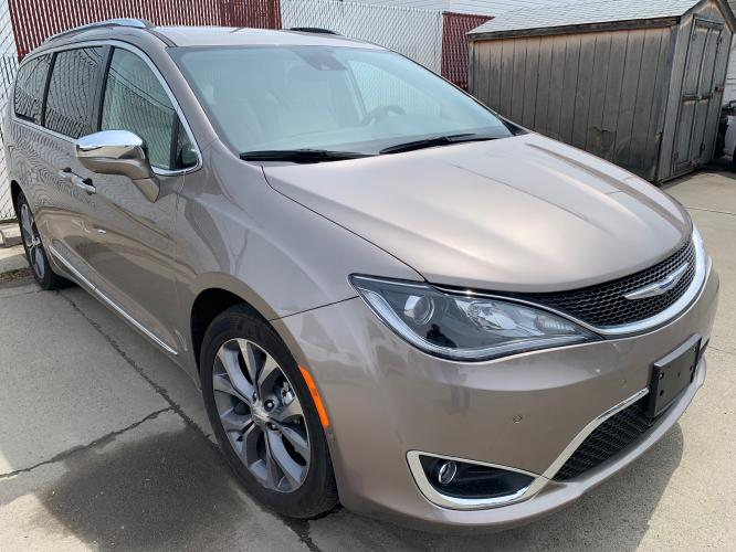 2018 Champagne Chrysler Limited (2C4RC1GG3JR) with an V6 engine, Automatic transmission, located at 3200 1st Avenue North, Billings, MT, 59101, (406) 245-9055, 45.779270, -108.510742 - Photo #2
